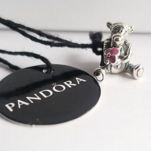 Pandora Disney, Tigger Charm, Pink Enamel